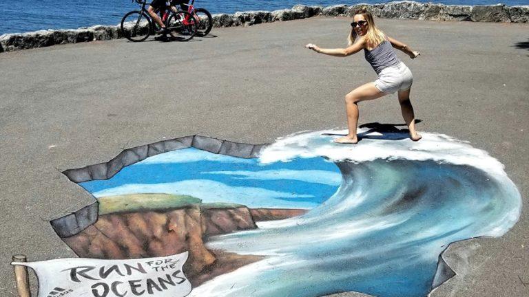 3D Chalk Artists