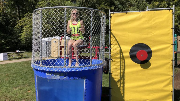 Rent our Dunk Tank and get Soaked!