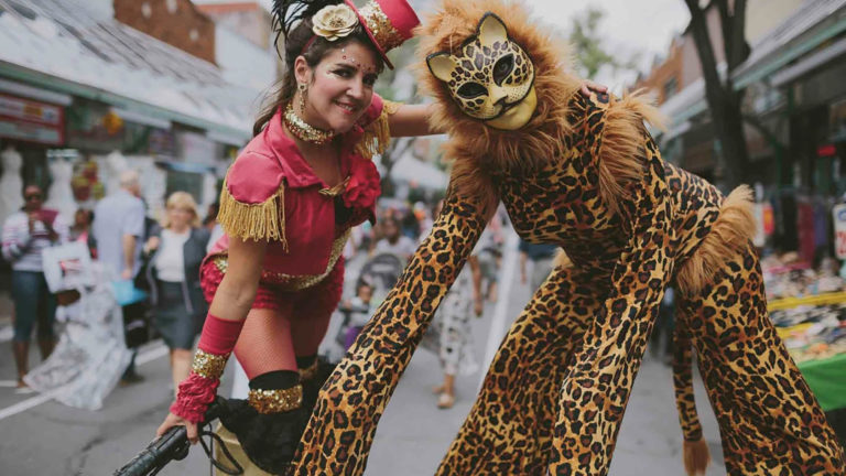 Marianne Trenka -Circus Performer