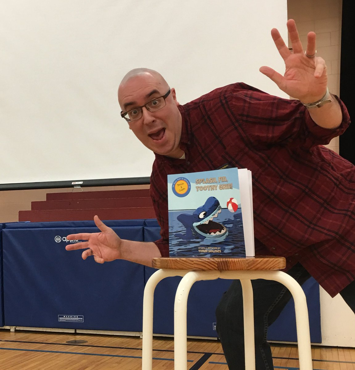 Interactive Author Timm Holmes